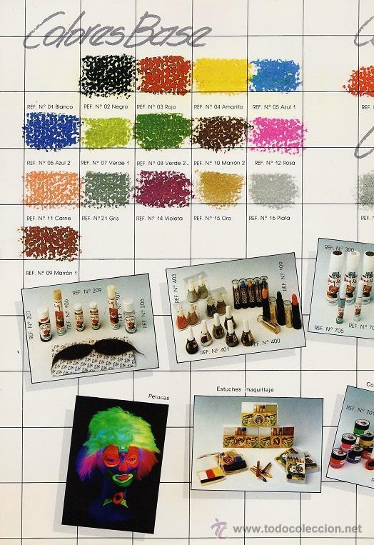 Catálogos publicitarios: catalogo - maquillajes arex-star / proestetic - comarex - ver foto - años 80 / 90 - Foto 2 - 34102286