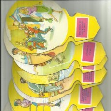 Catálogos publicitarios: COLECCION DE 12 PAY PAY DE PUBLICIDAD DE LA FABRICA DE ESPUMOS CAMPING DE PRINCIPIOS DE LOS AÑOS 60. Lote 293664243