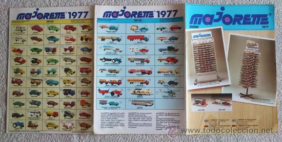 Catálogos publicitarios: CATALOGO JUGUETES MAJORETTE 1977 - Foto 3 - 34203105