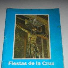 Catálogos publicitarios: PROGRAMA LIBRO FIESTAS DE LA CRUZ GRAO VALENCIA 1977 SEMANA SANTA. Lote 34282179