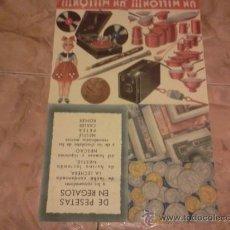 Catálogos publicitarios: NESTLÉ. PUBLICIDAD DE 1935. Lote 34283867