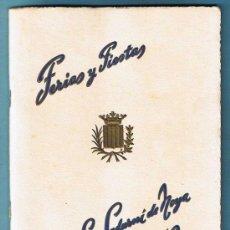 Catálogos publicitarios: PROGRAMA FERIAS Y FIESTAS SAN SADURNI DE NOYA, SEPTIEMBRE 1959.. Lote 34399320