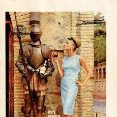 Catálogos publicitarios: PÁGINA DE PUBLICIDAD ORIGINAL *VETERANO DE OSBORNE* -- AÑO 1965. Lote 34590006