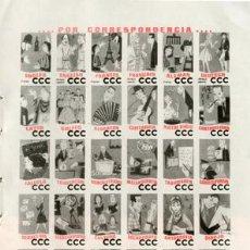Catálogos publicitarios: PÁGINA PUBLICIDAD ORIGINAL *CURSOS CORRESPONDENCIA CCC* · CENTRO CULTURA POR CORRESPONDENCIA - 1965. Lote 34590118