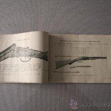 Catálogos publicitarios: CATÁLOGO DE ESCOPETAS AL POR MAYOR. PRINCIPIOS DEL SIGLO XX. Lote 34749988