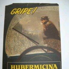 Catálogos publicitarios: PUBLICIDAD FARMACÉUTICA: HUBERMICINA, POTENCIAL ANTIBIÓTICO E INMUNITARIO (AÑOS 60). Lote 35132243