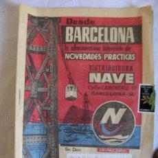 Catálogos publicitarios: CATÁLOGO VENTA POR CORREO DISTRIBUIDORA NAVE . Lote 35201414