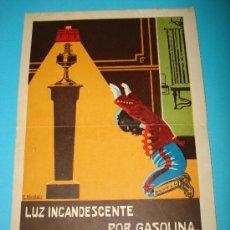 Catálogos publicitarios: ANTIGUO CATALOGO DE LAMPARAS,HORNILLOS E INSTRUMENTOS DE LUZ INCASDENCENTE POR GASOLINA DEL AÑO 1925. Lote 35271463