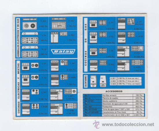 Publicidad balay catalogo de precios calend comprar for Catalogos de sofas y precios