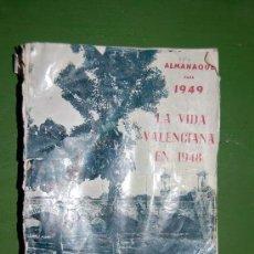 Catálogos publicitarios: ALMANAQUE LAS PROVINCIAS PARA 1949. Lote 35670630