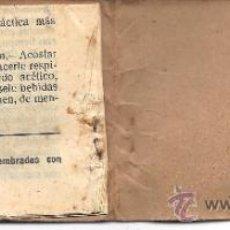 Catálogos publicitarios: PS3363 MANUAL DE PRIMEROS AUXILIOS CON PUBLICIDAD DE NITRATO DE CHILE. 9,5 X 7 CM. Lote 35686957