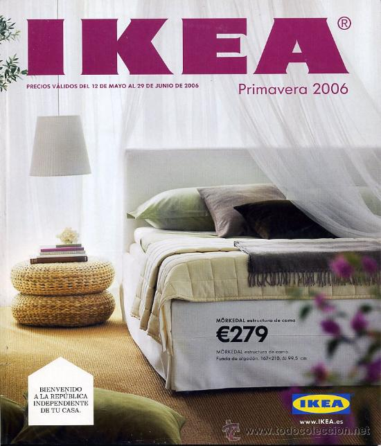 Catalogo ikea primavera 2006 mobiliario hog comprar cat logos publicitarios antiguos en - Catalogo ikea 2008 ...