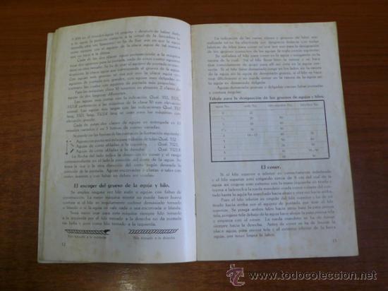 Catálogos publicitarios: CATÁLOGO MÁQUINA DE COSER WERTHEIM-RAPIDA, S.A. CATÁLOGO GENERAL DE PIEZAS Y ACCESORIOS. - Foto 8 - 36085819