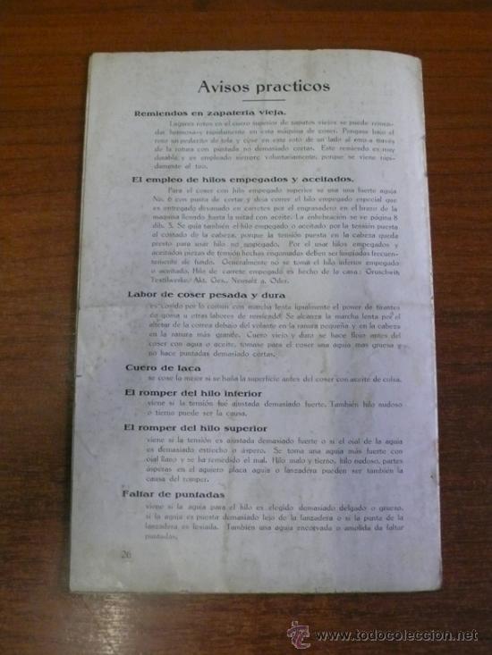 Catálogos publicitarios: CATÁLOGO MÁQUINA DE COSER WERTHEIM-RAPIDA, S.A. CATÁLOGO GENERAL DE PIEZAS Y ACCESORIOS. - Foto 9 - 36085819
