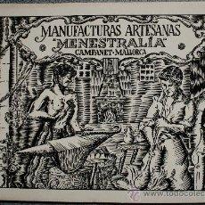 Catálogos publicitarios: CATALOGO VINTAGE MANUFACTURAS ARTESANAS (CAMPANET, MALLORCA) 140 PRODUCTOS. Lote 36081008