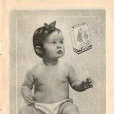 Catálogos publicitarios: PÁGINA PUBLICIDAD ORIGINAL *NUTRICELIA. ALIMENTO INFANTIL* INDUSTRIAS RIERA_MARSÁ - AÑO 1956. Lote 36166230