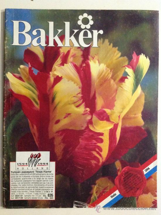 Revista de jardiner a bakker el jard n pla comprar for Jardineria online