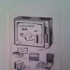 Catálogos publicitarios: PUBLICIDAD PHILIPS AFEITADORA, TELEVISOR Y AUTO RADIO. NUEVO. PERFECTAMENTE CONSERVADO.AÑO 1967. Lote 36381666
