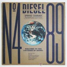 Catálogos publicitarios: DIESEL - 1989 UNIVERSAL CATALOGUE, SPRING-SUMMER Nº 4 89. Lote 36394660