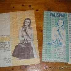 Catálogos publicitarios: 2 LIBRETAS DE CUPONES VALISPAR.. Lote 36511390