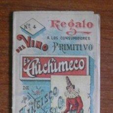 Catálogos publicitarios: FOLLETO PUBLICITARIO VINO EL CHICHIMECO. ILUSTRADO CON MUÑECOS. EL SALVADOR. AMÉRICA CENTRAL.. Lote 36592689