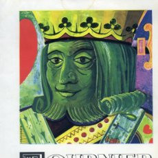 Catálogos publicitarios: PUBLICIDAD ANUNCIO DE NAIPES FOURNIER VITORIA AÑO 1959 TAMAÑO 27 X 21CM.. Lote 36834513