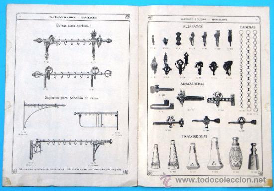 Catálogos publicitarios: SANTIAGO BOLIBAR. BARCELONA. HERRAJES PARA MUEBLES. EXTRACTO DEL CATALOGO GENERAL, 1916. - Foto 5 - 36937395