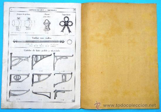 Catálogos publicitarios: SANTIAGO BOLIBAR. BARCELONA. HERRAJES PARA MUEBLES. EXTRACTO DEL CATALOGO GENERAL, 1916. - Foto 6 - 36937395