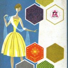 Catálogos publicitarios: PRECIOSOS CATALOGO PUBLICITARIO DE LA MAQUINAS DE COSER ALFA. Lote 36955178