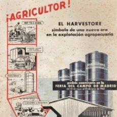 Catálogos publicitarios: AGRICULTURA - FOLLETO - RIEGOS MANNESMANN / MADRID - FERIA DEL CAMPO - VER FOTO - AÑO 1962. Lote 37262754