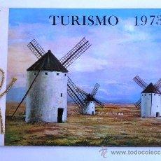 Catálogos publicitarios: MINISTERIO DE HACIENDA FABRICA NACIONAL DE MONEDA Y TIMBRE. TURISMO 1973. Lote 37517563