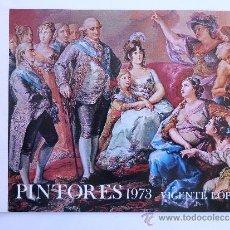Catálogos publicitarios: FÁBRICA NACIONAL MONEDA Y TIMBRE. PINTORES 1973.. Lote 37517814