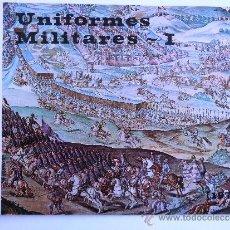 Catálogos publicitarios: FÁBRICA NACIONAL MONEDA Y TIMBRE. UNIFORMES MILITARES I.1973.. Lote 37518165
