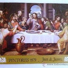 Catálogos publicitarios: FÁBRICA NACIONAL MONEDA Y TIMBRE. PINTORES 1979. JUAN DE JUANES. Lote 37528511
