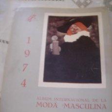 Catálogos publicitarios: ALBUM INTERNACIONAL DE LA MODA ROCOSA AÑO 1974 INVIERNO VER FT ADICIONALES LAMINAS INDIVIDUALES. Lote 37660385
