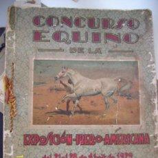 Catálogos publicitarios: EXPOSICION IBEROAMERICANA DE JEREZ DE LA FRONTERA, CONCURSO EQUINO AÑO 99, 166 PAGINAS.. Lote 37715404