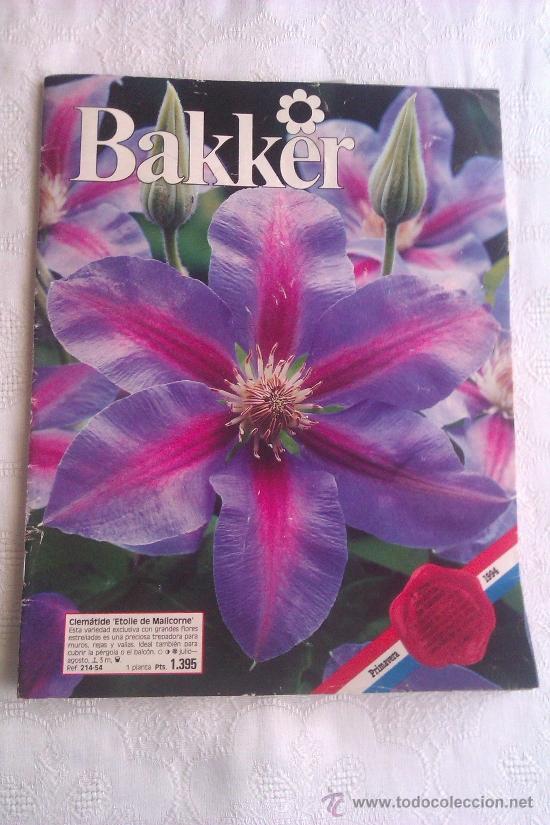 revista catalogo bakker flores jardineria comprar
