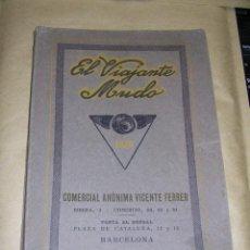 Catálogos publicitarios: FOTOGRAFIA - CATALOGO 1926 , EL VIAJANTE MUDO COMERCIAL ANONIMO VICENTE FERRER BARCELONA - 167 PAG. . Lote 37901272