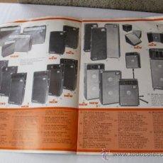 Catálogos publicitarios: CATALOGO PUBLICITARIO EQUIPAMENTOS DE SONIDO DYNACORD AÑOS 70. Lote 37965731