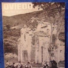 Catálogos publicitarios: FIESTAS DE SAN MATEO. OVIEDO. SEPTIEMBRE 1964. SOCIEDAD OVETENSE DE FESTEJOS. PROGRAMA DE LAS FIESTA. Lote 38023692