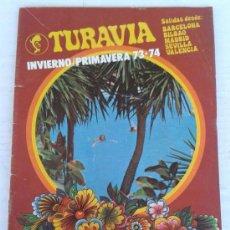 Catálogos publicitarios: CATALOGO VIAJES TRANSCLUB VERANO 1977. Lote 38069224