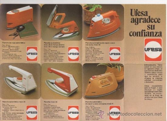 Cat logo ufesa de planchas radiadores estufas comprar for Catalogo de radiadores
