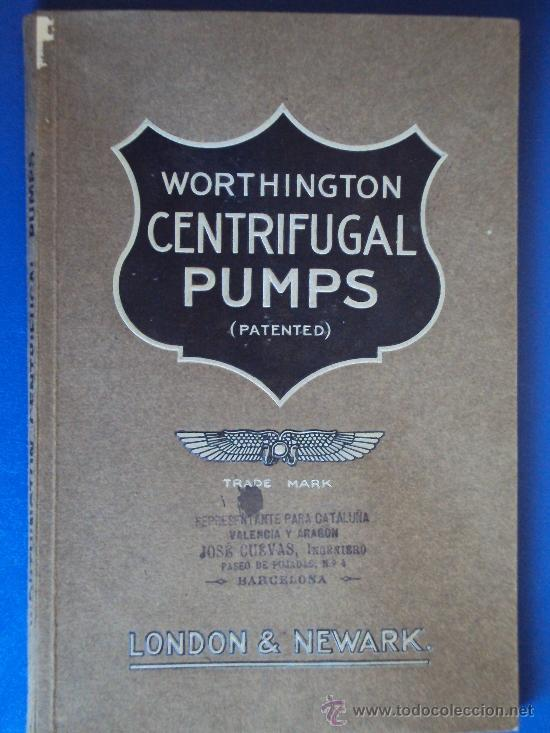 cat-303)catalogo de worthington centrifugal pu - Sold