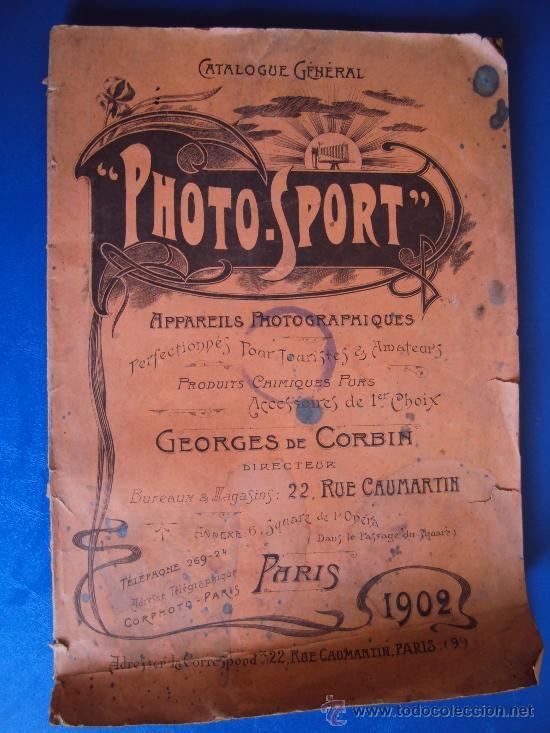 (CAT-37)CATALOGO DE CAMARAS Y ACCESORIOS DE FOTOGRAFIA,PHOTO-SPORT,FRANCES,96 PAGINAS (Coleccionismo - Catálogos Publicitarios)