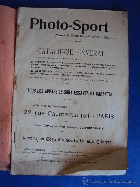 Catálogos publicitarios: (CAT-37)CATALOGO DE CAMARAS Y ACCESORIOS DE FOTOGRAFIA,PHOTO-SPORT,FRANCES,96 PAGINAS - Foto 2 - 38345835