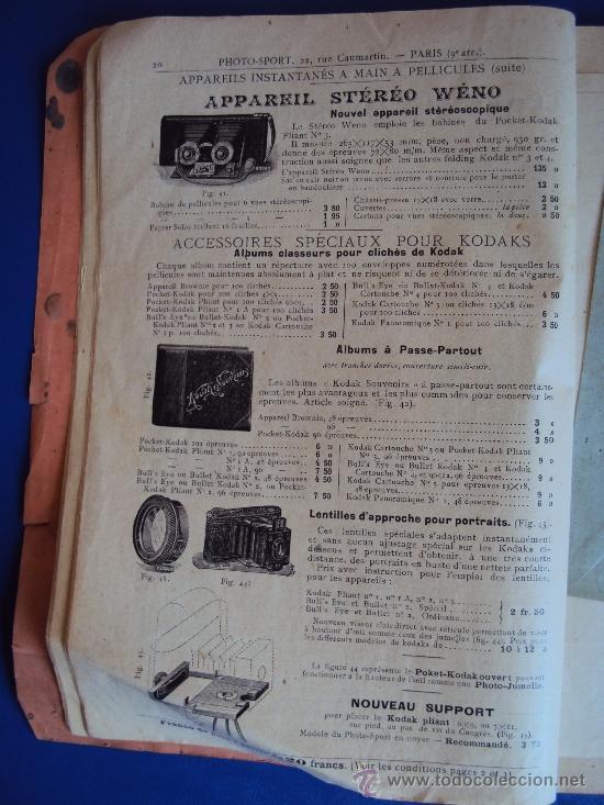 Catálogos publicitarios: (CAT-37)CATALOGO DE CAMARAS Y ACCESORIOS DE FOTOGRAFIA,PHOTO-SPORT,FRANCES,96 PAGINAS - Foto 4 - 38345835