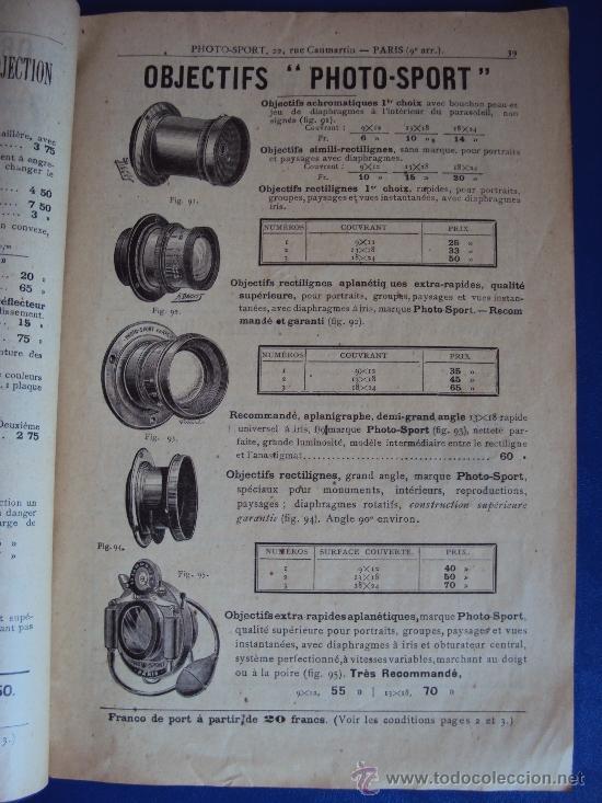Catálogos publicitarios: (CAT-37)CATALOGO DE CAMARAS Y ACCESORIOS DE FOTOGRAFIA,PHOTO-SPORT,FRANCES,96 PAGINAS - Foto 5 - 38345835
