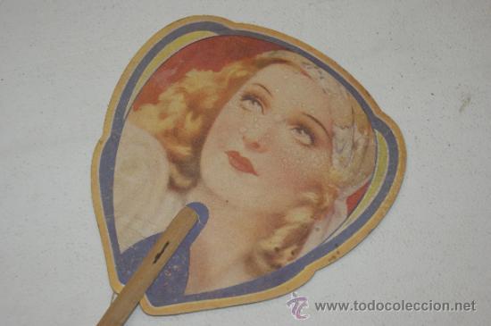Catálogos publicitarios: Antiguo pay pay publicitario, años 40. perfumeria sola. - Foto 2 - 38643614