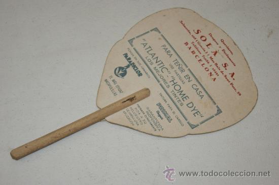 Catálogos publicitarios: Antiguo pay pay publicitario, años 40. perfumeria sola. - Foto 3 - 38643614