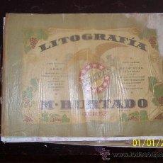 Catálogos publicitarios: FOTOS JEREZ LITO M.HURTADO,CATALOGO ESCEPCIONAL, UN POCO DETERIORADO Y HUMEDECIDO,VER FOTOS. Lote 38709102